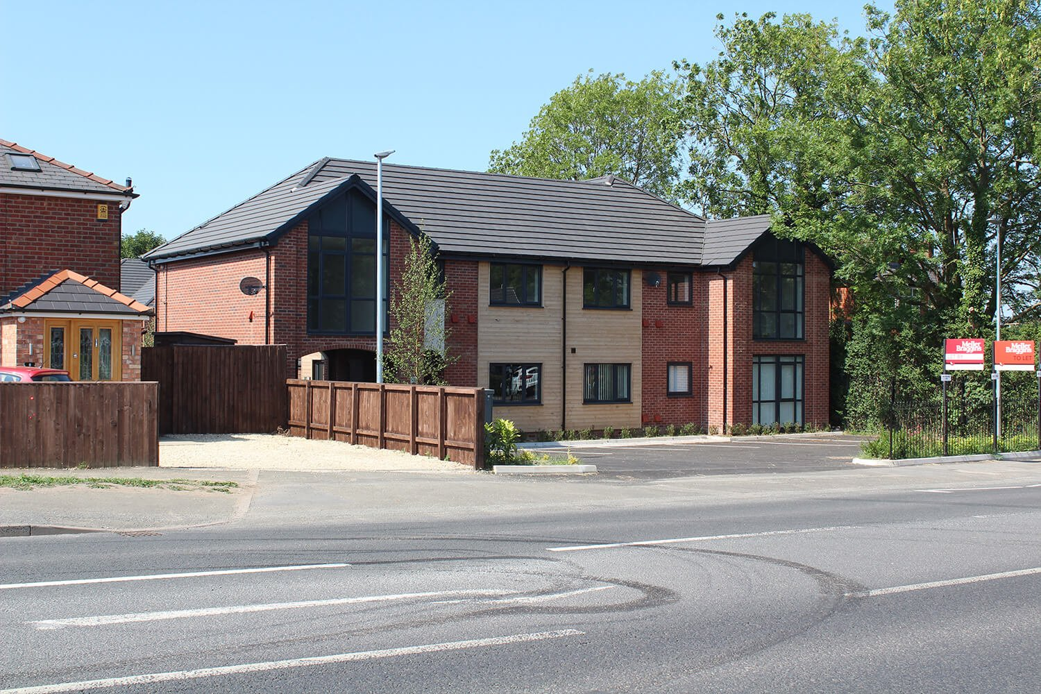 Five Oaks, Knutsford new build apartments