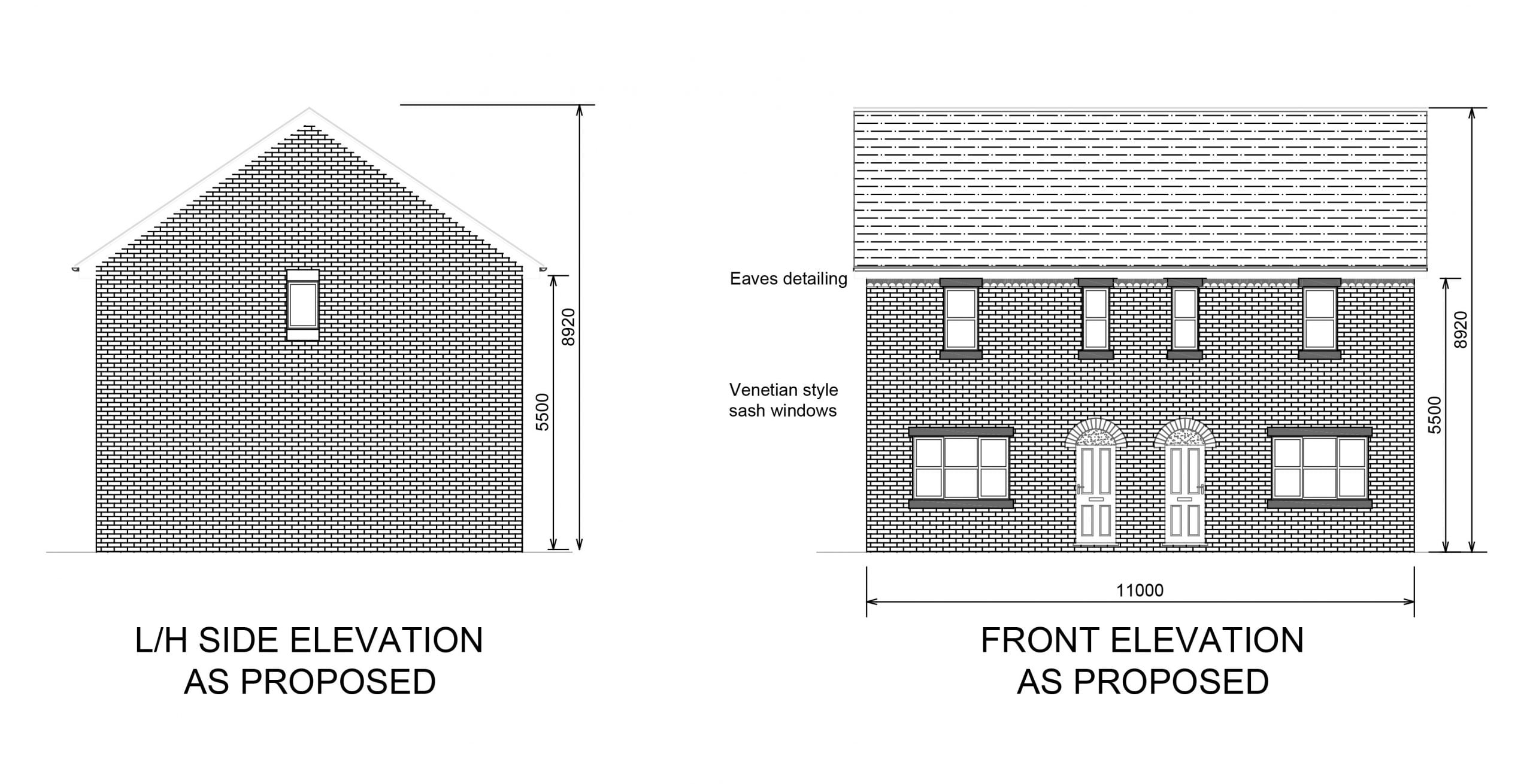 Townfield Lane, Barnton new build housing development