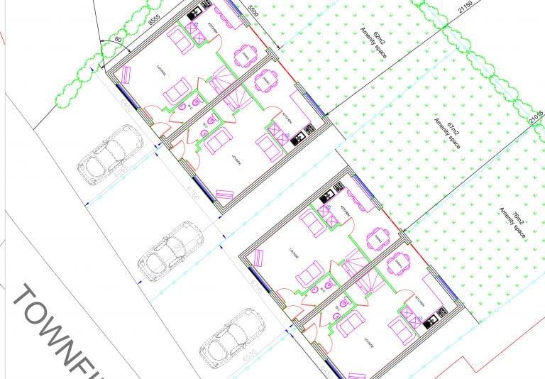 Townfield Lane architect plans